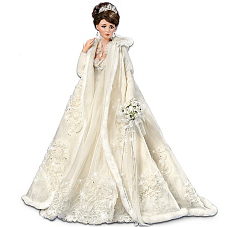 "Touch Of Elegance: 21"" Porcelain Bride Doll"
