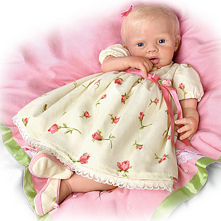 "TrueTouch Authentic Silicone ""Lily Rose"" Baby Doll"