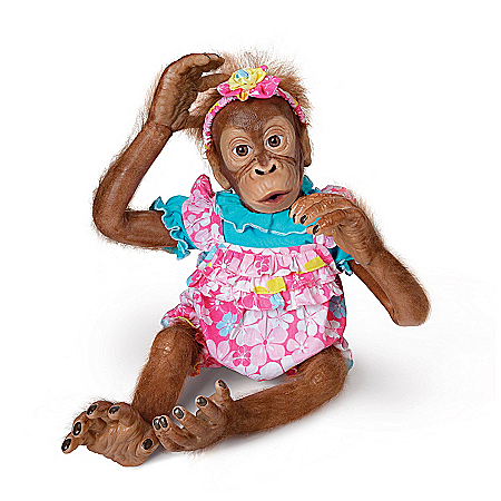 Lollie Orangutan Child Doll