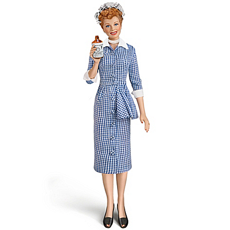 "The Talking I LOVE LUCY ""Vitameatavegamin"" Fashion Doll"