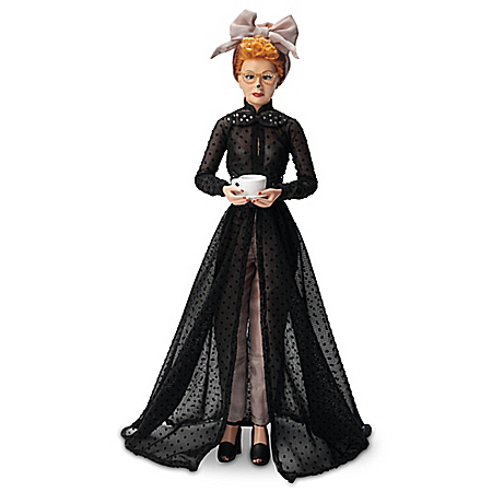 I LOVE LUCY L.A. At Last Talking Portrait Doll