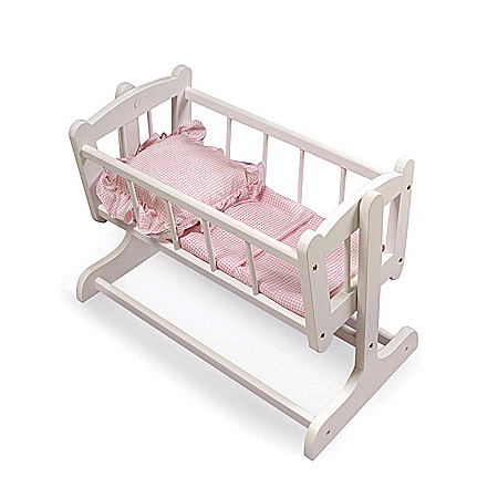 Heirloom Doll Cradle Baby Doll Accessories