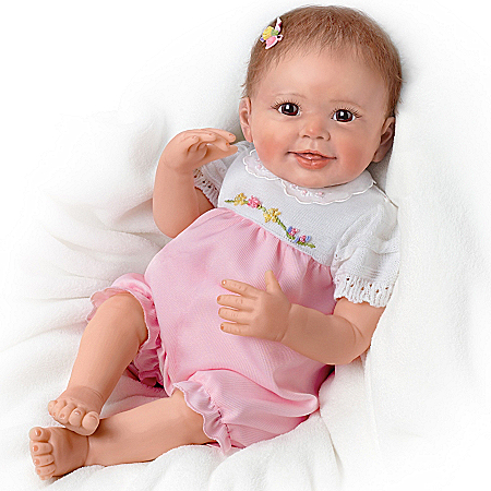 Baby Doll: Emma's Ticklish Tootsies Baby Doll