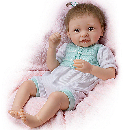 Girl Baby Doll: Alyssa's Happy Feet