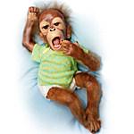 Baby Orangutan Doll - Baby Zula