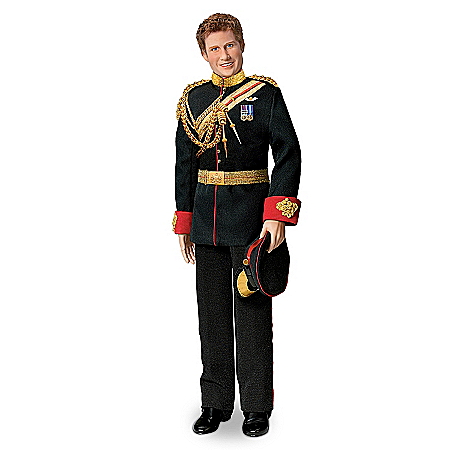 Prince Harry Royal Fashion Porcelain Doll