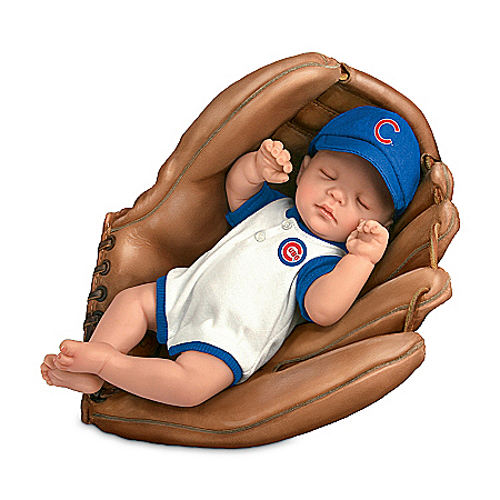 MLB Chicago Cubs Baby Boy Doll: Born
