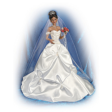 Glory Of Love: 20 inch African-American Bride Doll