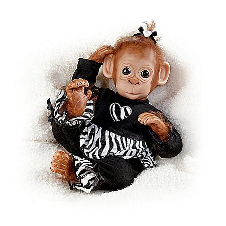 Baby Chimpanzee Doll: Baby Binti