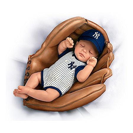 MLB New York Yankees Baby Doll: Born A Yankees Fan