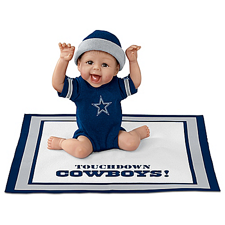 Touchdown Dallas Cowboys NFL Baby Doll