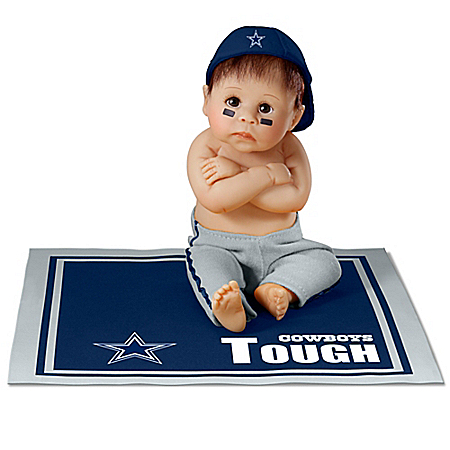 Dallas Cowboys Tough NFL Baby Doll