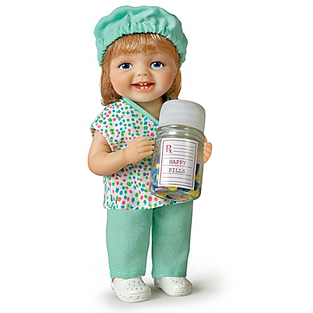 Be Nice, I???m in Charge of the Happy Pills Child Doll