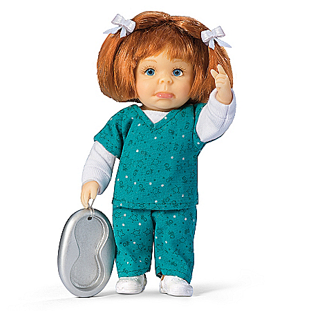 I Dont Do Bed Pans Child Doll