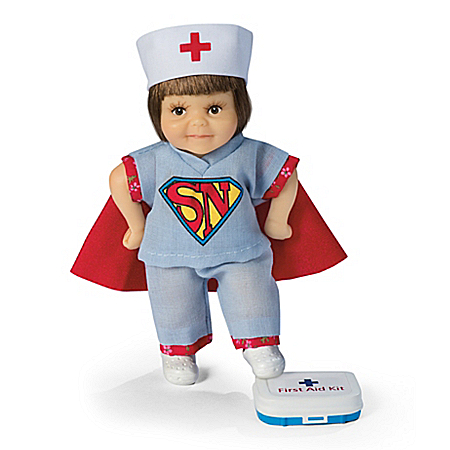 Im a Nurse. Whats Your Super Power? Child Doll
