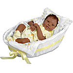 Realistic African-American Baby Doll - Makayla Grace