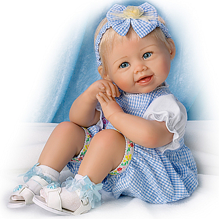 Madison Poseable Realistic Baby Girl Doll