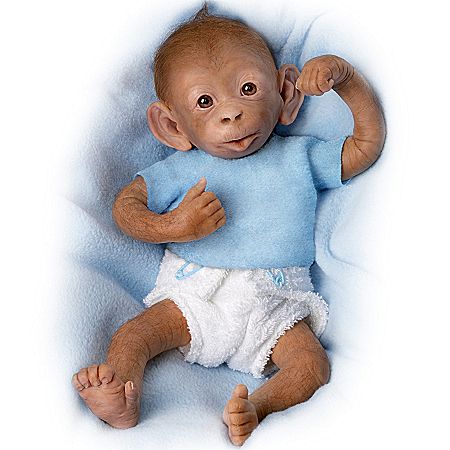 Bobo Baby Monkey Doll