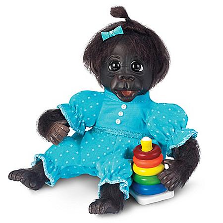 Dottie's Day Of Fun Lifelike Monkey Doll