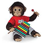 Wally's Concert Recital Lifelike Monkey Doll
