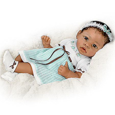 Alicia's Gentle Touch Realistic Interactive Baby Doll