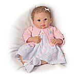 Lifelike Baby Girl Doll - A Moment In My Arms, Forever In My Heart