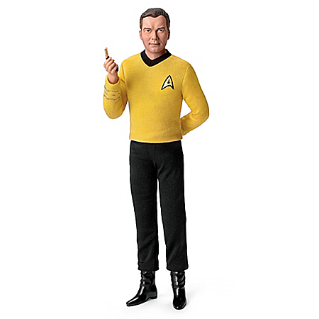 Captain Kirk Collectible Talking Figure