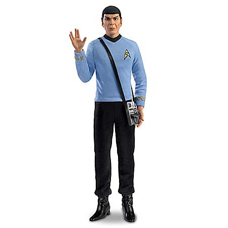 Mr. Spock Commemorative Talking Figure