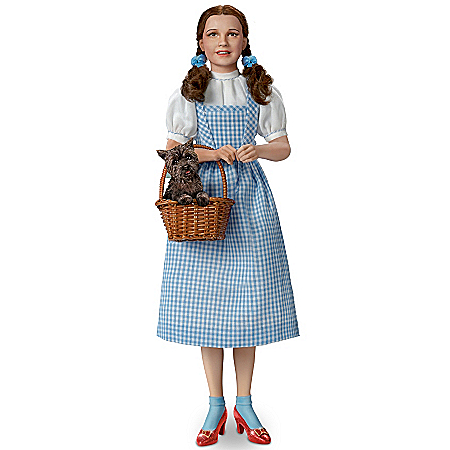 Wizard Of Oz Portrait Doll: Dorothy, Over The Rainbow
