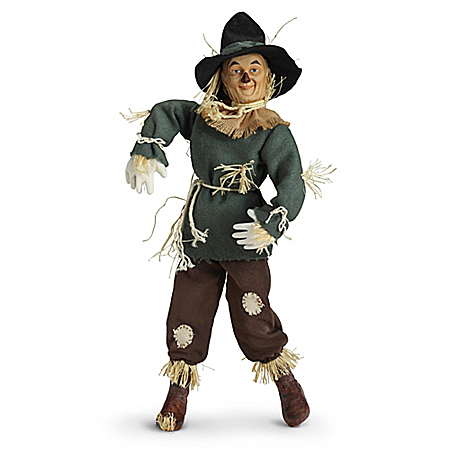 The Wizard Of Oz Scarecrow Singing Portrait Doll