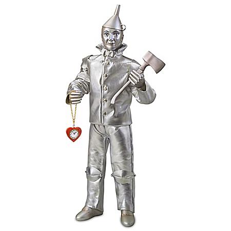 The Wizard Of Oz Tin Man Singing Portrait Doll