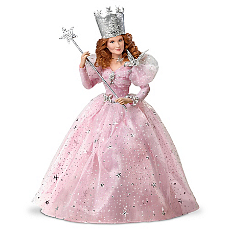 The Wizard Of Oz Glinda The Good Witch Singing Portrait Doll