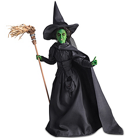 Doll: Wizard Of Oz Wicked Witch Of The West Portrait Doll