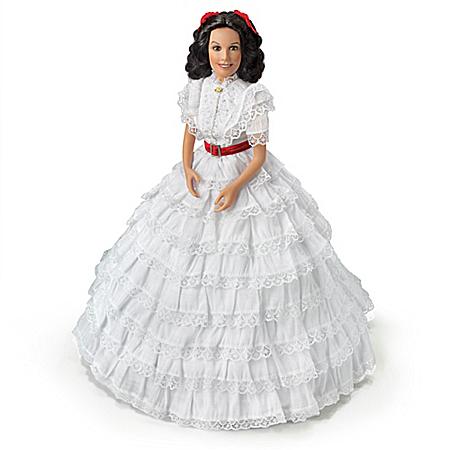 Scarlett, A Fancy Fiddle Dee Dee Handcrafted Portrait Doll