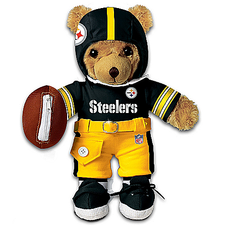 NFL Pittsburgh Steelers Coaching Teddy Bear