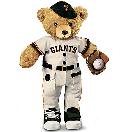 Collectible Teddy Bears The Giants Coaching Teddy Bear