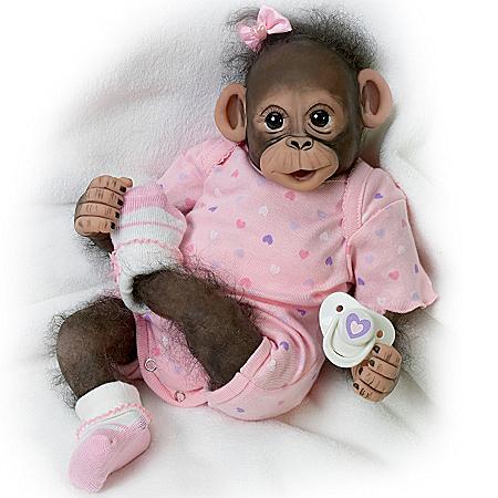 Doll: Baby Zoey Monkey Doll