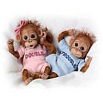 Monkey Baby Doll Set - Double Trouble