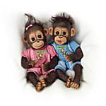 Dolls - He Did It, She Did It Monkey Doll Set