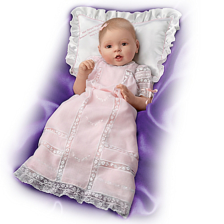 Handcrafted Princess Charlotte Of Cambridge Commemorative Baby Doll