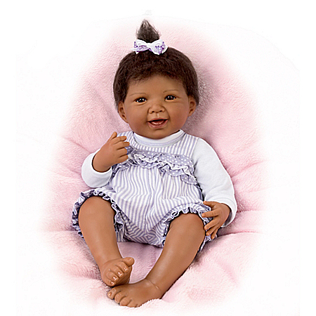 Waltraud Hanl So Truly Real Jordan Vinyl Baby Doll