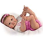 Sherry Miller 10 Little Fingers, 10 Little Toes Poseable Baby Girl Doll