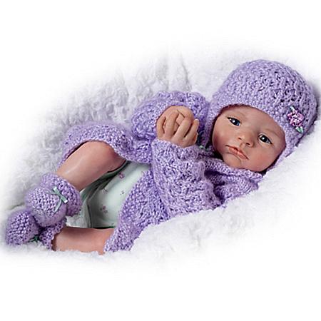 Doll: Alyssa Claire Newborn Baby Doll