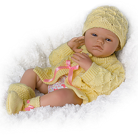 Marissa May Lily Charlotte Realistic Baby Girl Newborn Doll