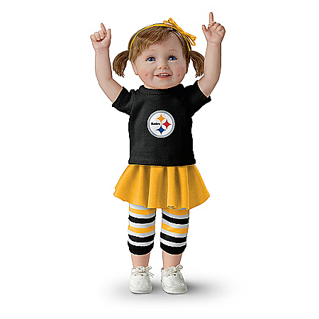 Child Doll: Steeler Girls Have More Fun! Child Doll