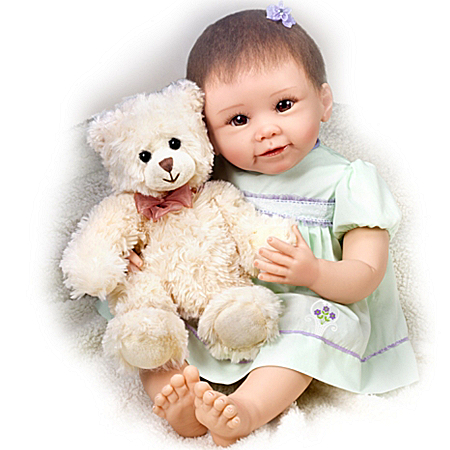 Baby Doll: Lily And Gracie Bear Baby Doll