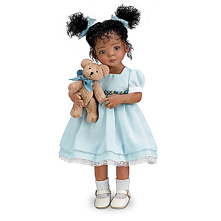 Doll: Jada And Teddy Child Doll