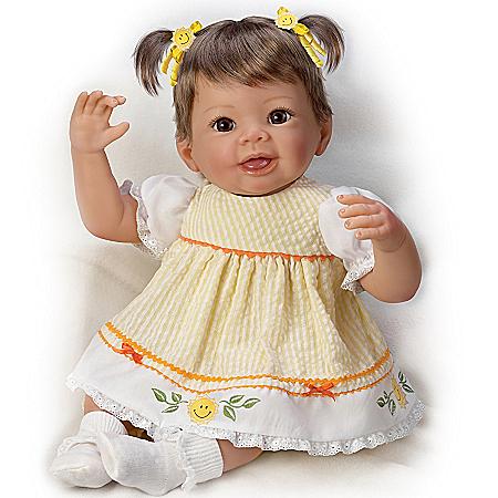 Girl Baby Doll: Little Ray Of Sunshine