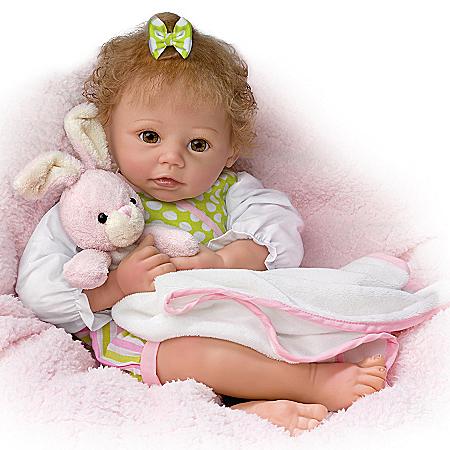 Linda Murray Naptime Amelia Realistic Interactive Baby Girl Doll