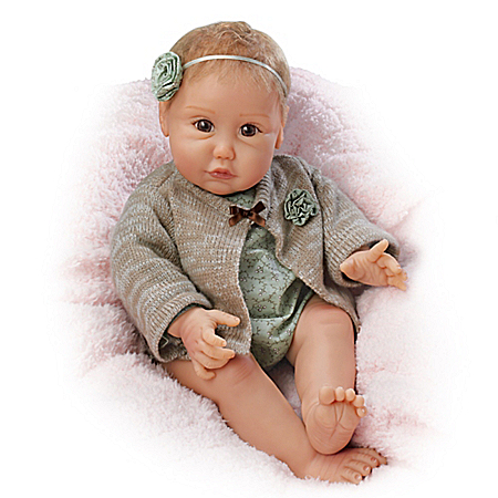 Sherry Miller Nuzzle Coo Baby Handcrafted Doll
